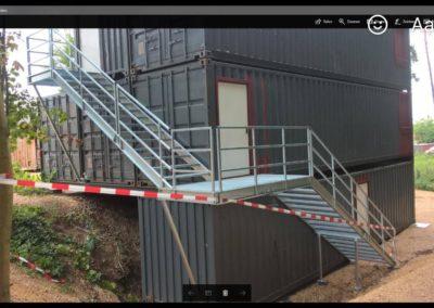 Производство на метални външни стълби