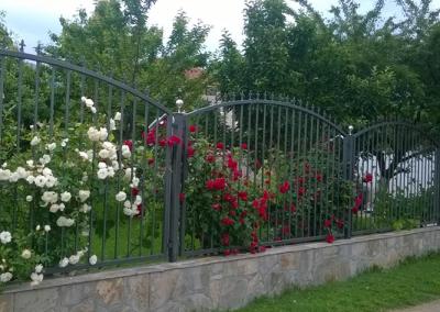 Декоративни метални огради