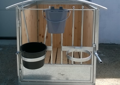 Метална клетка за отглеждане на телета - селскостопанско оборудване от Стилконструкционс ЕООД