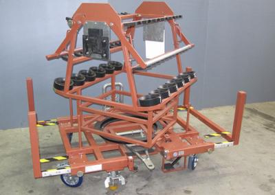 Производство на транспортни колички за автомобилостроенето